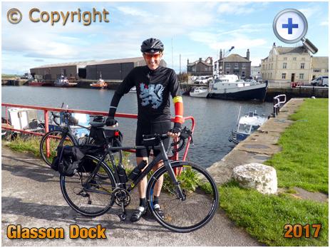 Glasson Dock Cyclist [2017]