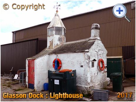 Glasson Dock : Lighthouse [2017]