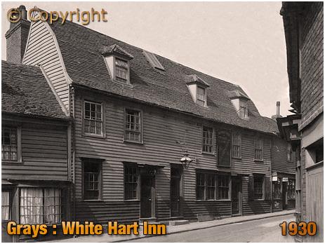 Grays : White Hart Inn [1930]