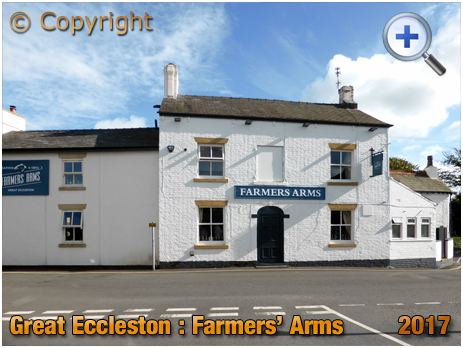 Great Eccleston : Farmers' Arms at Halsall Square [2017]