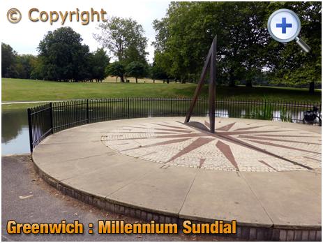 Greenwich : Millennium Sundial