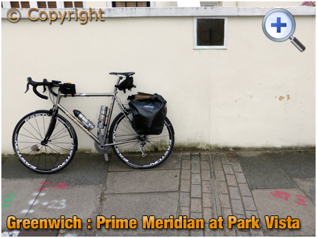 London : Prime Meridian at Park Vista in Greenwich