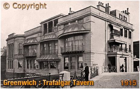 London : Trafalgar Tavern on the Greenwich Peninsula [1915]