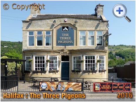 The Three Pigeons at Halifax [2016]
