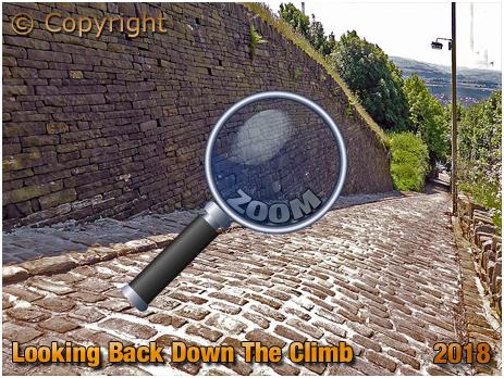 Looking Back Down Trooper Lane in Halifax