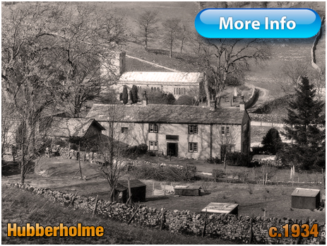 Yorkshire : Church of Saint Michael and All Angels and the George Inn at Hubberholme [1934]