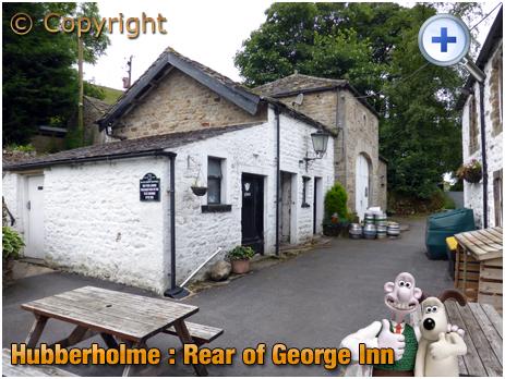 Hubberholme : Rear Buildings at the George Inn [2016]