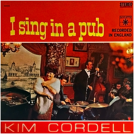 """Kim Cordell : """"I Sing In A Pub"""" with cover art from the Waterman's Arms on the Isle of Dogs"""