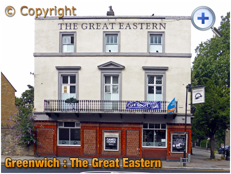 London : The Great Eastern on the Isle of Dogs