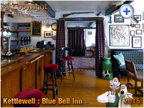 Kettlewell : Bar of the Blue Bell Inn in Upper Wharfedale [2016]