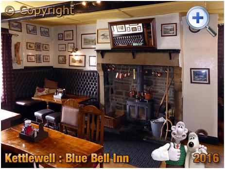 Kettlewell : Interior of the Blue Bell Inn in Upper Wharfedale [2016]