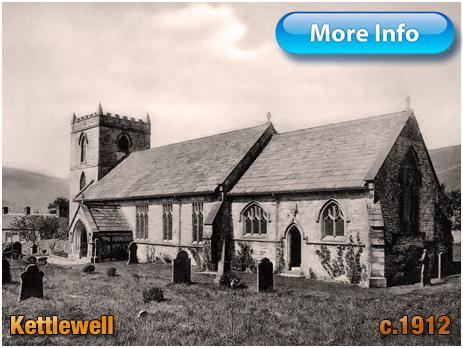 Yorkshire : Church of Saint Mary at Kettlewell [c.1912]