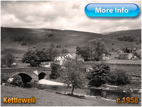 Yorkshire : Kettlewell from The Knipe in Wharfedale [c.1958]