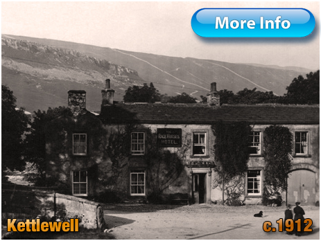 Yorkshire : The Racehorses Hotel at Kettlewell [c.1912]
