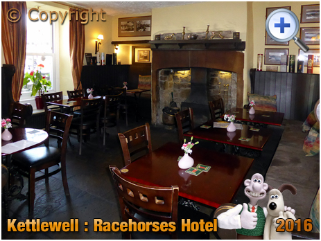 Kettlewell : Interior of the Racehorses Hotel in Upper Wharfedale [2016]