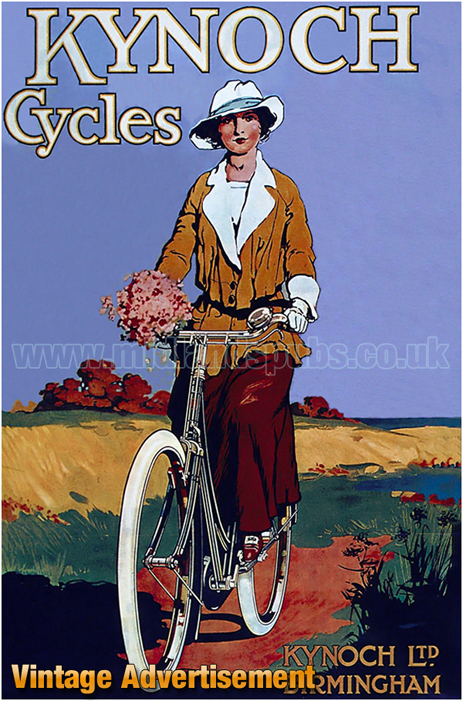 Birmingham : Advertisement for Kyoch Cycles