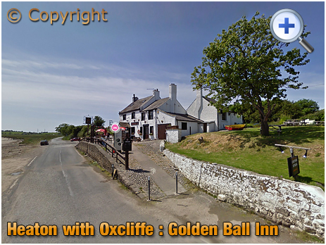The Golden Ball Inn at Heaton with Oxcliffe near Lancaster [2015]
