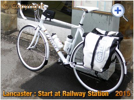 Touring Bike at Lancaster Railway Station [2015]