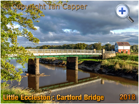 Little Eccleston : Cartford Bridge [2018 ©Ian Capper and licensed for reuse under Creative Commons Licence]