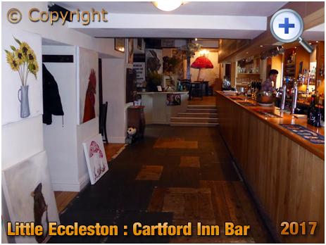 Little Eccleston : Bar of the Cartford Inn [2017]