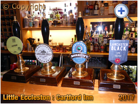 Little Eccleston : Cask Ales at the Cartford Inn [2017]
