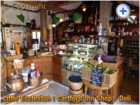 Little Eccleston : Shop and Deli at the Cartford Inn [2017]