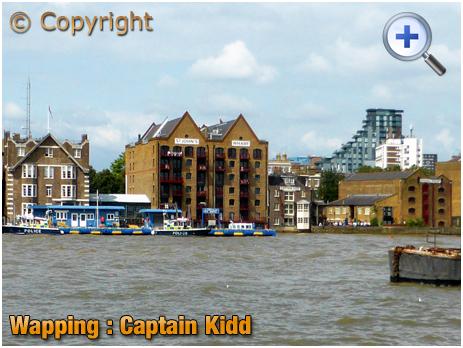 London : Captain Kidd at Wapping