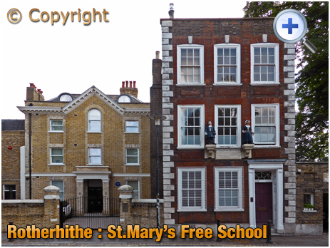London : Former Free School at Rotherhithe
