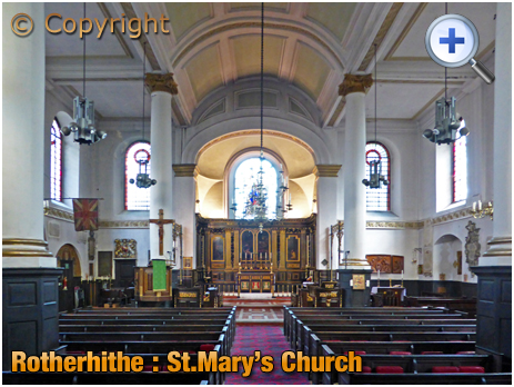London : St. Mary's Church at Rotherhithe
