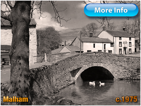 Yorkshire : Packhorse Bridge over the Beck at Malham [c.1975]