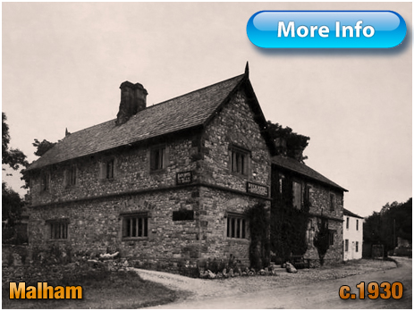 Yorkshire : The Buck Inn at Malham [1930]