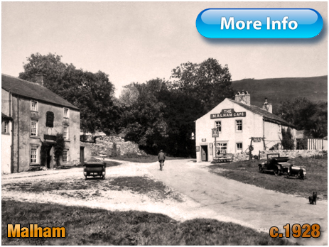 Yorkshire : The Malham Café [c.1928]