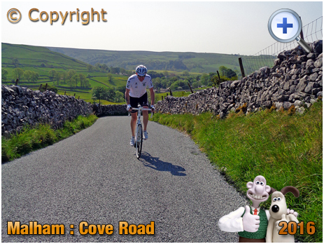 Malham : Cove Road Cycle Climb [2016]
