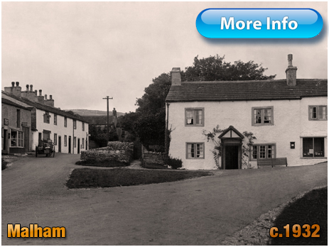 Yorkshire : Shop and Post Office at Malham [c.1932]