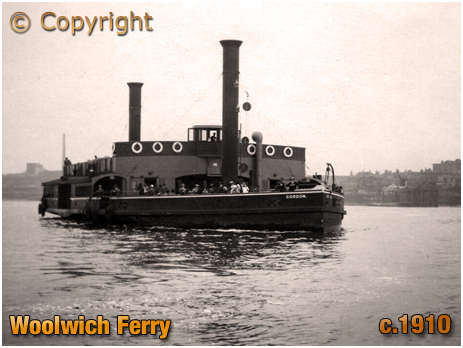 North Woolwich : Ferry Paddle Steamer [c.1910]