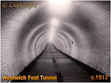 North Woolwich : Foot Tunnel [c.1912]