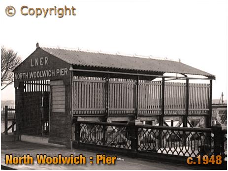 North Woolwich : Pier [c.1948]
