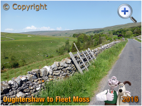 Road and River at Langstrothdale in the Yorkshire Dales [2016]