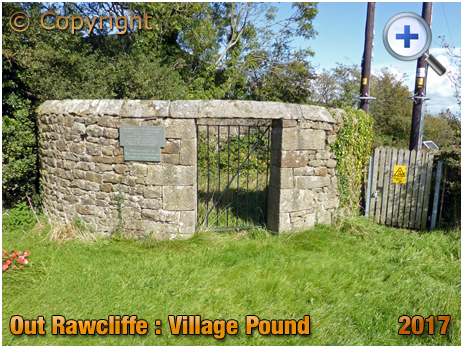 Out Rawcliffe : The Pinfold [Village Pound] [2017]