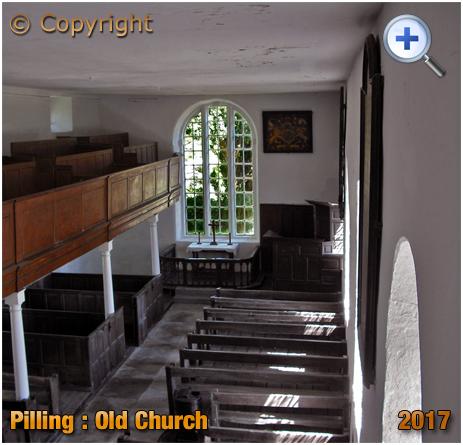 Pilling : Interior of the Old Church of Saint John the Baptist [2017]