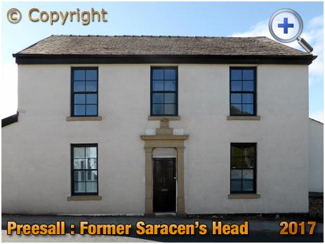Preesall : Former Saracen's Head Inn [2017]