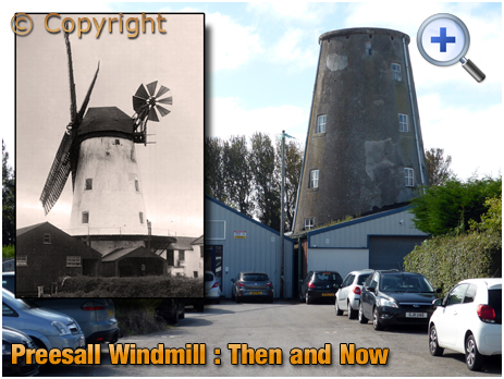 Preesall : Old and New views of the Windmill