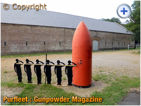 Purfleet : Gunpowder Magazine No.5 [2019]