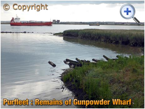 Purfleet : Remains of Gunpowder Wharf [2019]