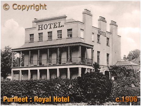 Purfleet : Royal Hotel [c.1906]