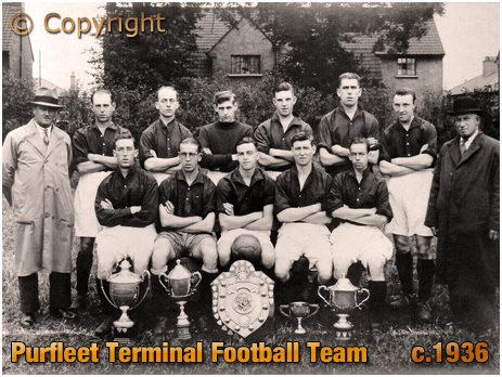 Purfleet Terminal Football Team [c.1936]