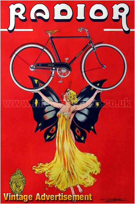 Advertisement for Radior Cycles