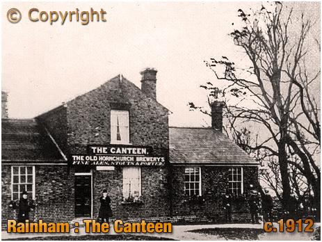 Rainham : The Canteen [c.1912]