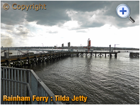 Rainham Ferry : Jetty at Tilda Rice [2019]