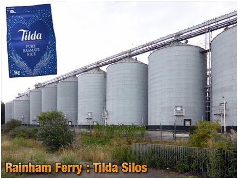 Rainham Ferry : Tilda Rice Silos [2019]